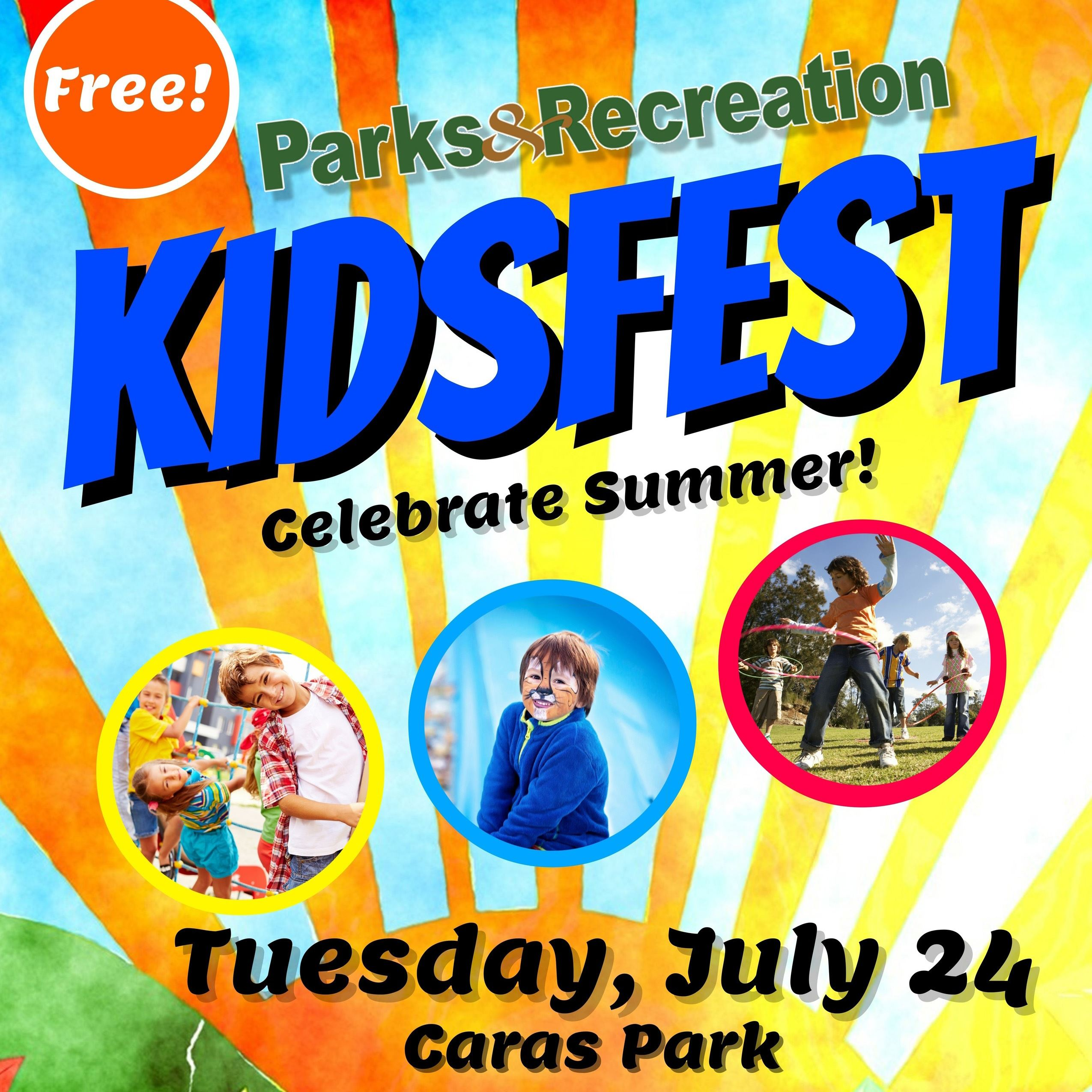 Copy of Summer Kids Fest Flyer Template 2