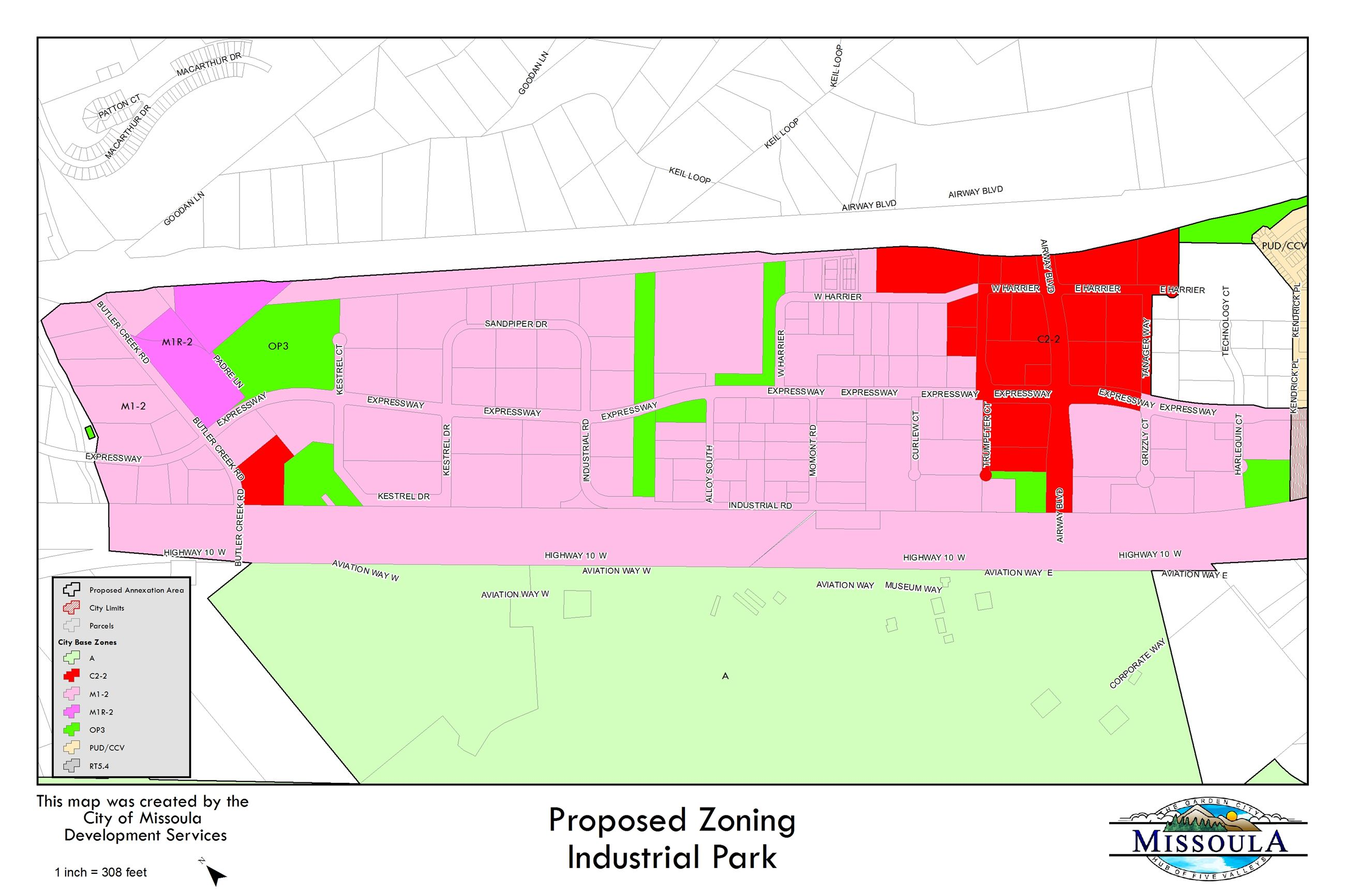 Industrial Park - Zoning
