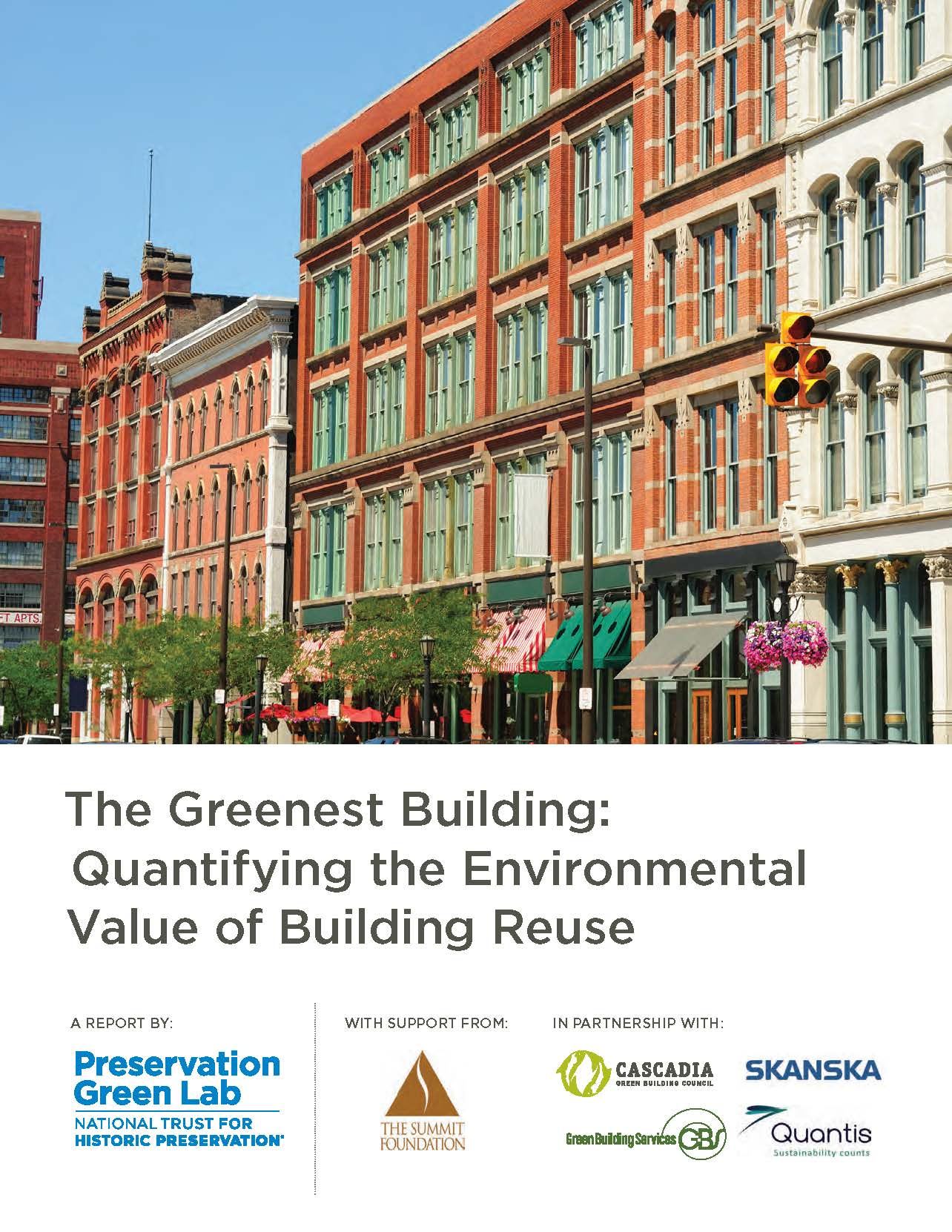 The Greenest Building, Summary Front Page
