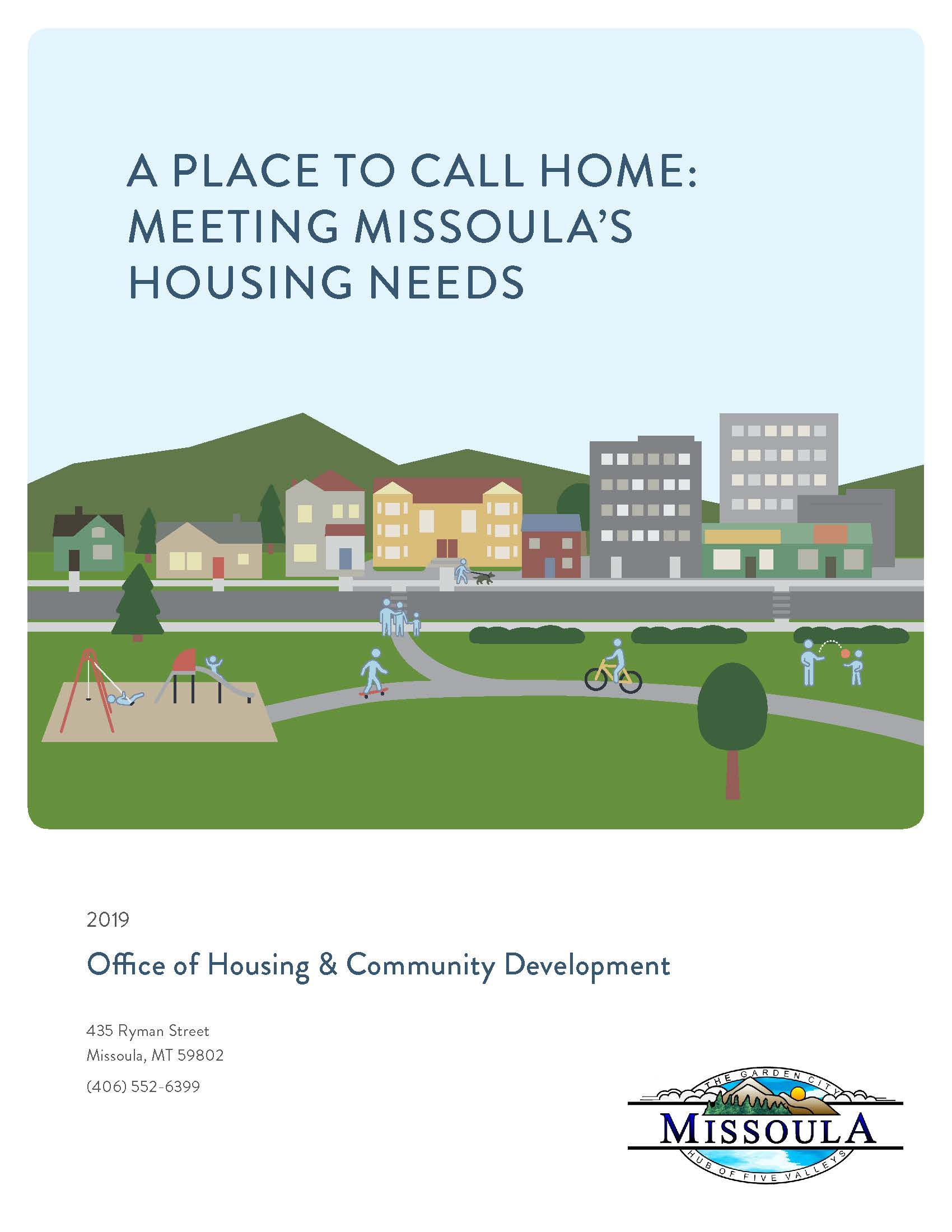 Cover Page of Housing Policy